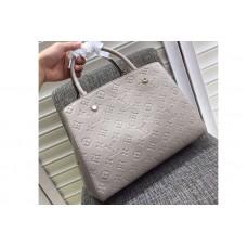 Louis Vuitton M41048 Montaigne MM Emp Bags Grey