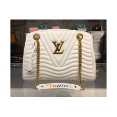 Louis Vuitton M51978 LV New Wave Chain Tote Bags White