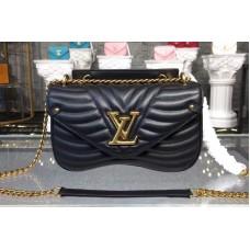 Louis Vuitton M51498 LV New Wave Chain Bags MM Black
