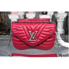 Louis Vuitton M51930 LV New Wave Chain Bags PM Red