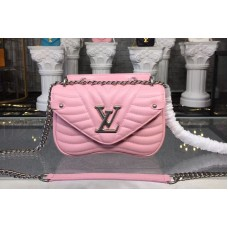 Louis Vuitton M51933 LV New Wave Chain Bags PM Pink