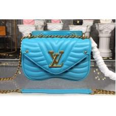 Louis Vuitton M51936 LV New Wave Chain Bags PM Blue
