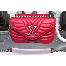Louis Vuitton M51943 LV New Wave Chain Bags MM Red