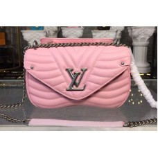 Louis Vuitton M51944 LV New Wave Chain Bags MM Pink