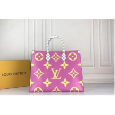 Louis Vuitton M44570 LV Onthego tote bags Monogram coated canvas Vert