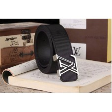 Louis Vuitton Epi Leather Belts With Black/Silver Buckle