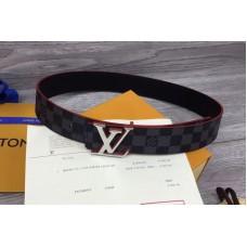 Louis Vuitton LV Initiales 40mm Reversible Mens Belts M9426U Red