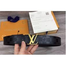 Louis Vuitton 40mm Belts LV Damier Infini Leather