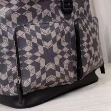 Gucci caleido black print backpack 406369 (2)(kdl-7145)