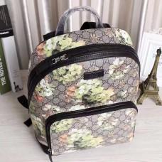Gucci GG geometry printing  backpack 406369 (5)(kdl-7148)