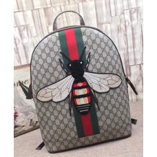 Gucci Bee and Web GG Supreme Backpack 442892 2018