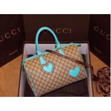 Gucci 189895 Canvas Boston bag