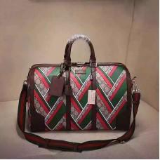 Gucci GG chevron Medium Duffle Bag 406380(742102)