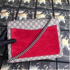 Gucci Dionysus GG Snakeskin Medium Shoulder Bag with Appliqué 400235 2018