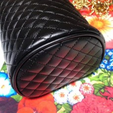 Gucci Interlocking G Horsebit Quilted Leather Belt Bag 572298 Black 2019