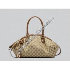 Gucci Cruise Sukey Medium Boston Bag (Beige/Light-Brown)