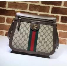 Gucci Ophidia GG Supreme Saddle Bag 523658  2018