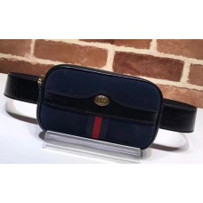 Gucci Ophidia Belted IPhone Case 519308 Navy Blue 2018