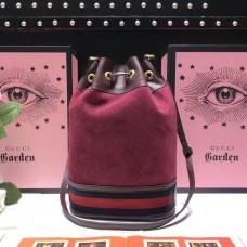 Gucci Ophidia GG Bucket Bag 540457 Fuchsia 2018