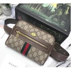 Gucci Ophidia GG Supreme Small Belt Bag 517076 2018