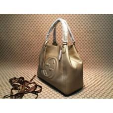 Gucci 282309 Medium Soho Shoulder Bag Gold