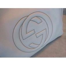 Gucci 282309 Medium Soho Shoulder Bag White