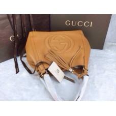 Gucci 282309 Medium Soho Shoulder Bag Ginger