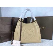 Gucci 282309 Medium Soho Shoulder Bag Apricot
