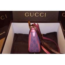 Gucci 336749 denim shoulder bag