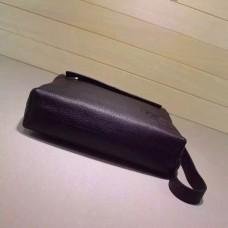 Gucci Black Leather messenger 322059