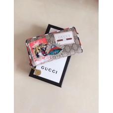Gucci Courrier GG Supreme Zip Around Wallet 473909