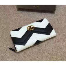 GG Marmont zip around wallet 443123