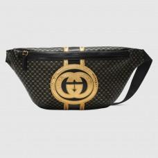 Gucci Black Gucci-Dapper Dan Belt Bag