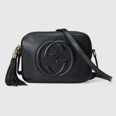 Gucci Black Soho Small Disco Bag