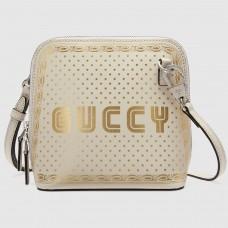 Gucci White Guccy Mini Shoulder Bag