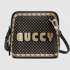 Gucci Black Guccy Mini Shoulder Bag