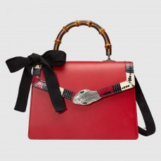 Gucci Red Lilith Medium Top Handle Bag