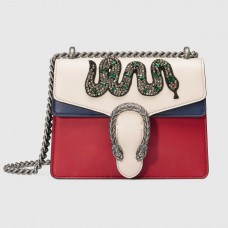 Gucci Dionysus Embroidered Leather Mini Bag