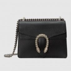 Gucci Black Mini Dionysus Leather Bag