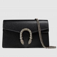 Gucci Black Dionysus Leather Super Mini Bag