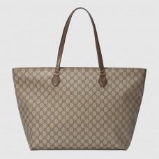 Gucci Beige Ophidia GG Medium Tote Bag