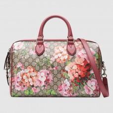Gucci Medium Blooms GG Boston Bag