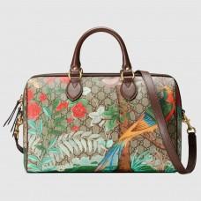 Gucci Tian GG Medium Boston Bag