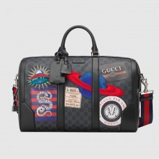Gucci Night Courrier Soft GG Supreme Carry-on Duffle Bag