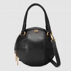 Gucci Black Basketball Shaped Mini Shoulder Bag