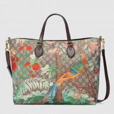 Gucci Tian Soft GG Supreme Tote Bag