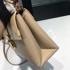 Louis Vuitton EPI leather One handle M51519 Flap bag BEIGE(1c108-711307)