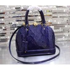 Louis Vuitton Alma BB Bag Royalblue 2015