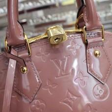 Louis Vuitton Alma BB Bag Velvet Powder 2015