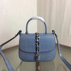 Louis Vuitton chain it bag pm EPI leather Blue M54606 2017(75301)